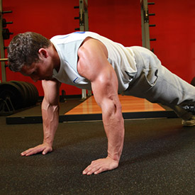 pushup extension phase
