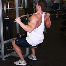 lat pull down concentric